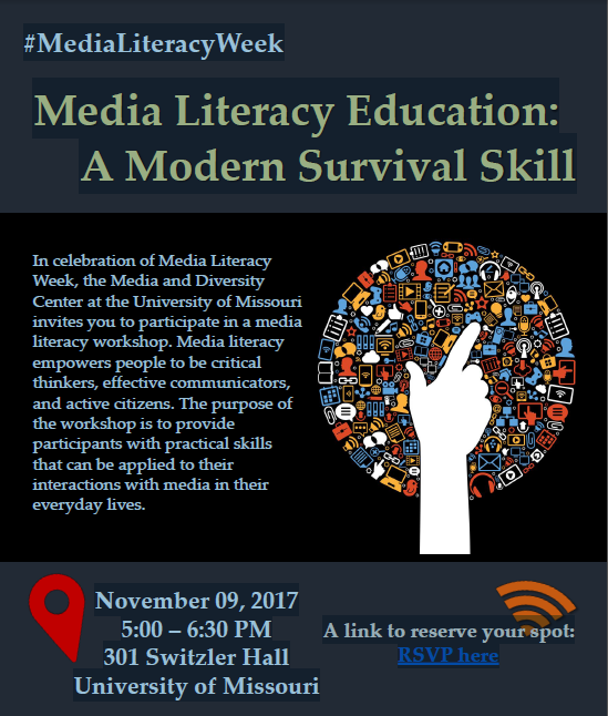 Check out our video and workshop for Media Literacy Week!
